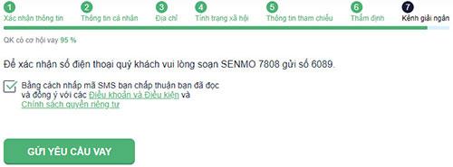 Hướng dẫn vay tiền SenMo có tiền ngay