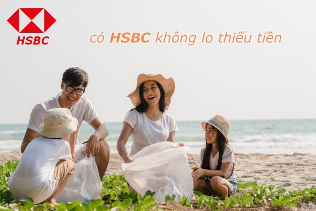 Hướng dẫn vay tiền HSBC 2021