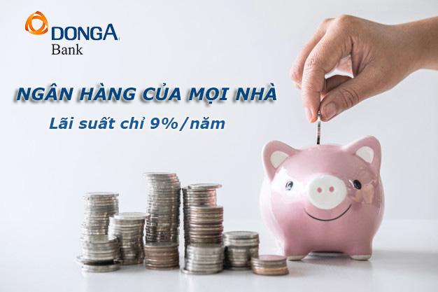 Hướng dẫn vay tiền ngân hàng Đông Á có ngay